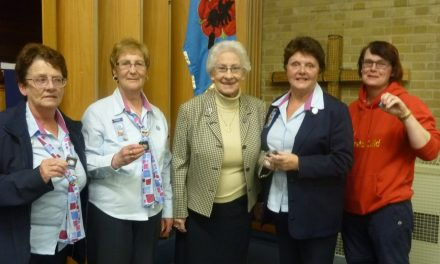 Girlguiding Darwen Division Commisioner recognises good work of her team