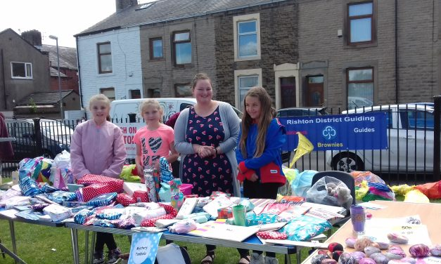 Rishton Guides Wow At Festival!