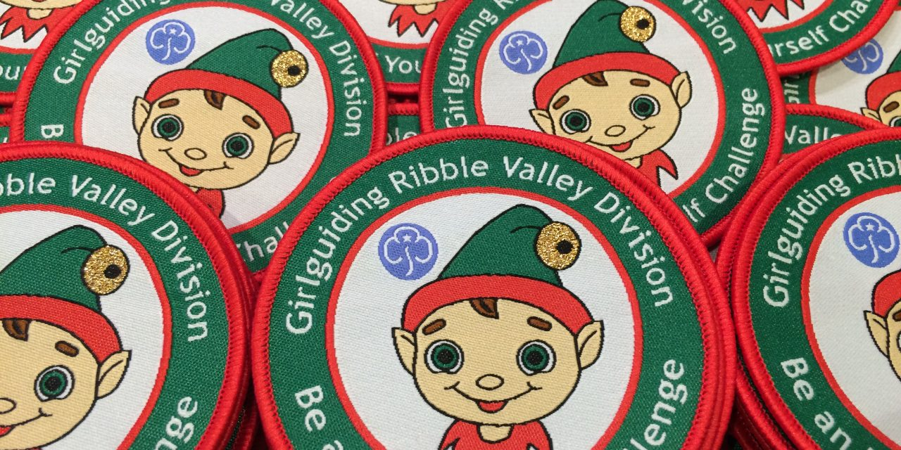"""Be an Elf Yourself"" challenge badge"