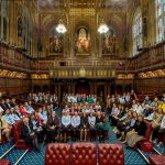 BARONESS FOR A DAY: EAST LANCASHIRE GIRLS TAKE OVER THE HOUSE OF LORDS
